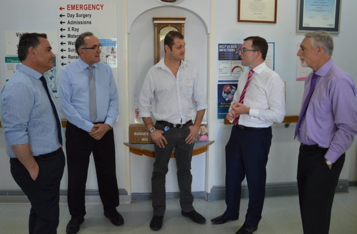 DEPUTY PREMIER BRIEFED ON INVERELL HOSPITAL REDEVELOPMENT PROGRESS