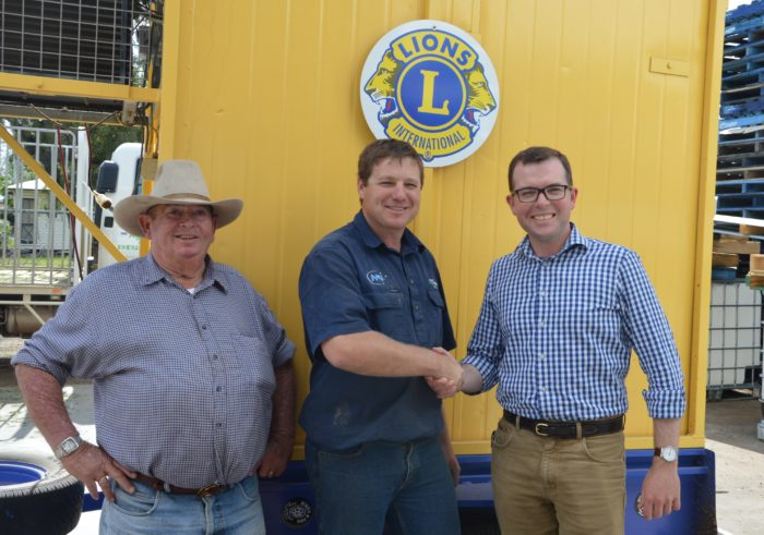$9,800 INVESTMENT IN MOREE RECREATIONAL FISHING PROJECT