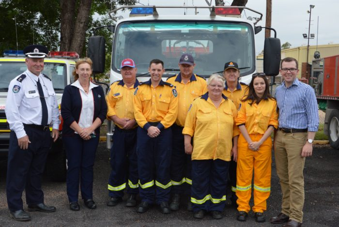 $4,000 BOOST FOR MOREE RURAL FIRE BRIGADE AND VOLUNTEERS