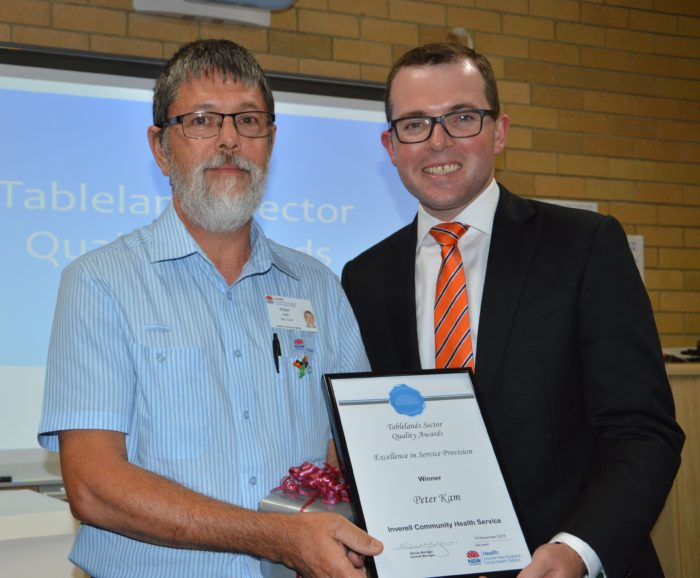 INVERELL EXCELLENCE RECOGNISED AT REGION'S HEALTH AWARDS