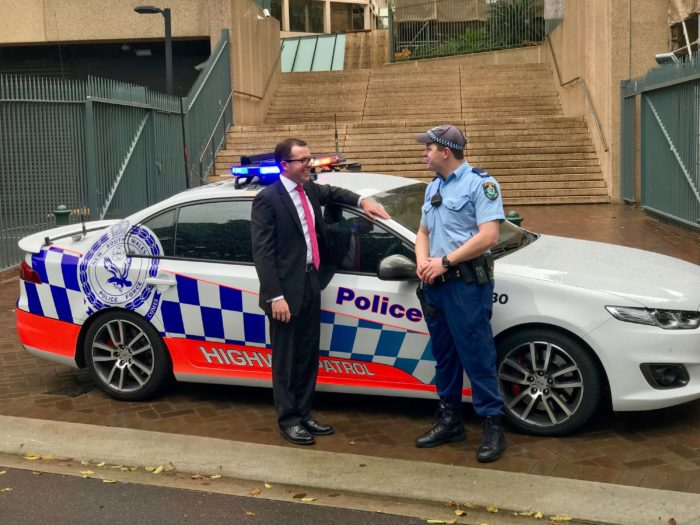NEW POLICE HIGHWAY PATROL VEHICLE ON OUR LOCAL ROADS