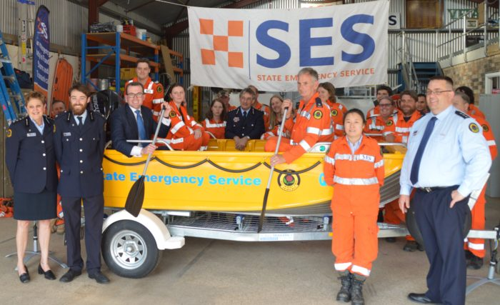ARMIDALE SES UNIT RECEIVES NEW FLOOD RESCUE BOAT