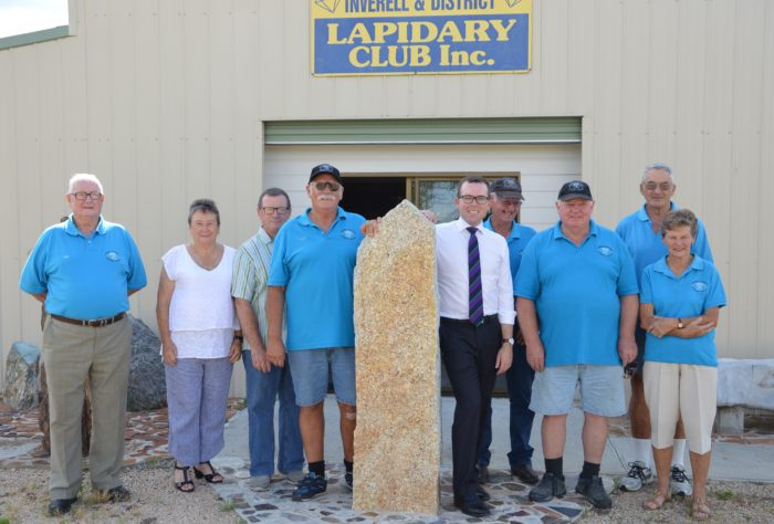 ANOTHER JEWEL IN THE CROWN FOR INVERELL LAPIDARY CLUB