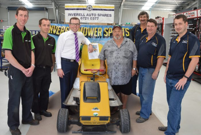 MOWER CLUB HOPES IT'S ON TRACK FOR A REVVED UP RACE START
