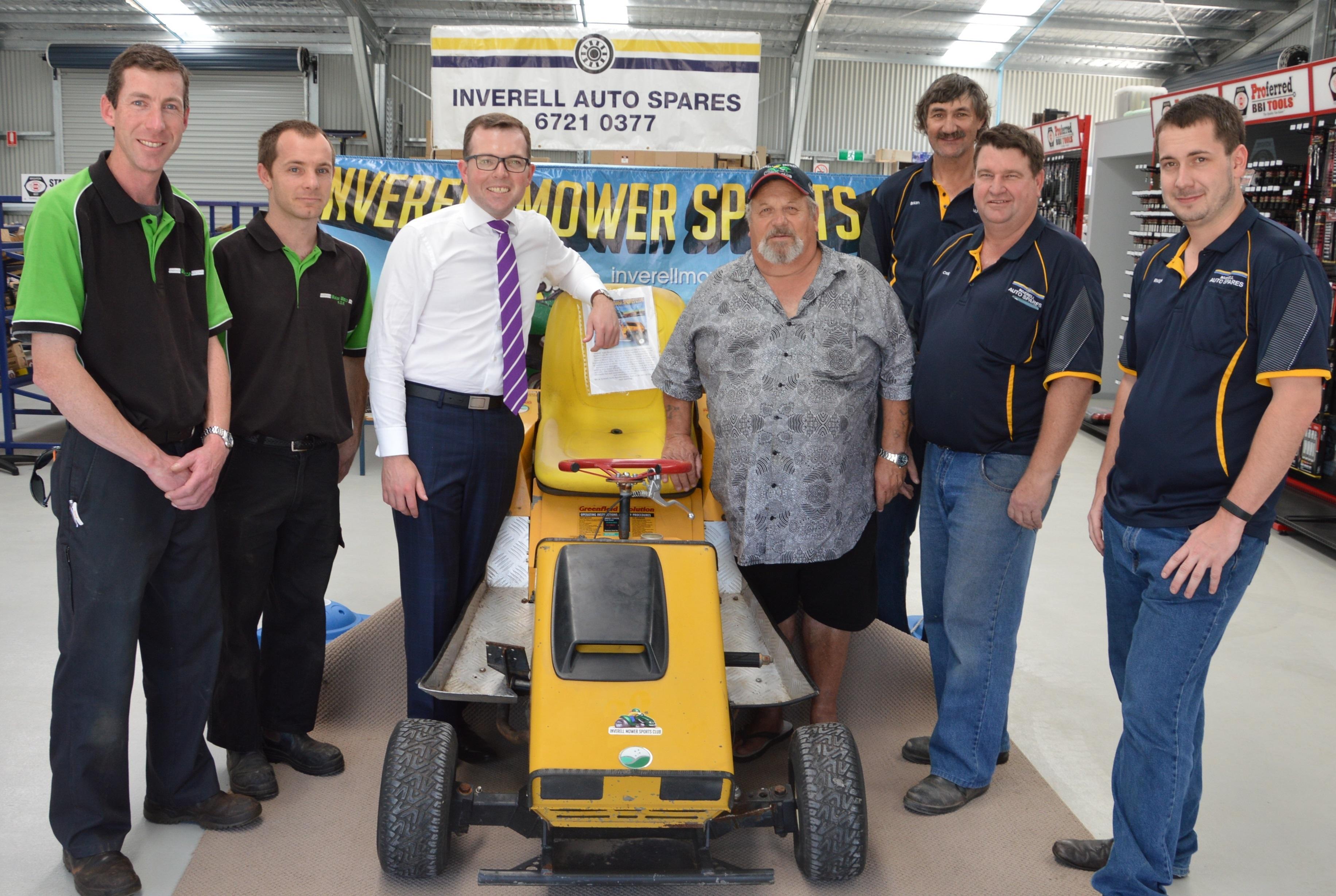 Inverell Mower Racing Club 1