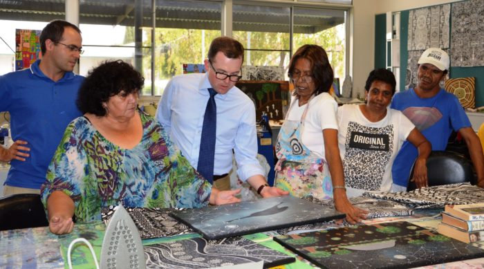 KAMILAROI COLOURING-IN RECEIVES $3,000 BRUSH UP IN MOREE