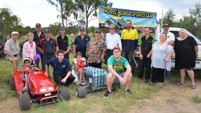 INVERELL MOWER CLUB REVVED UP AND ON TRACK FOR RACE START WITH $15K