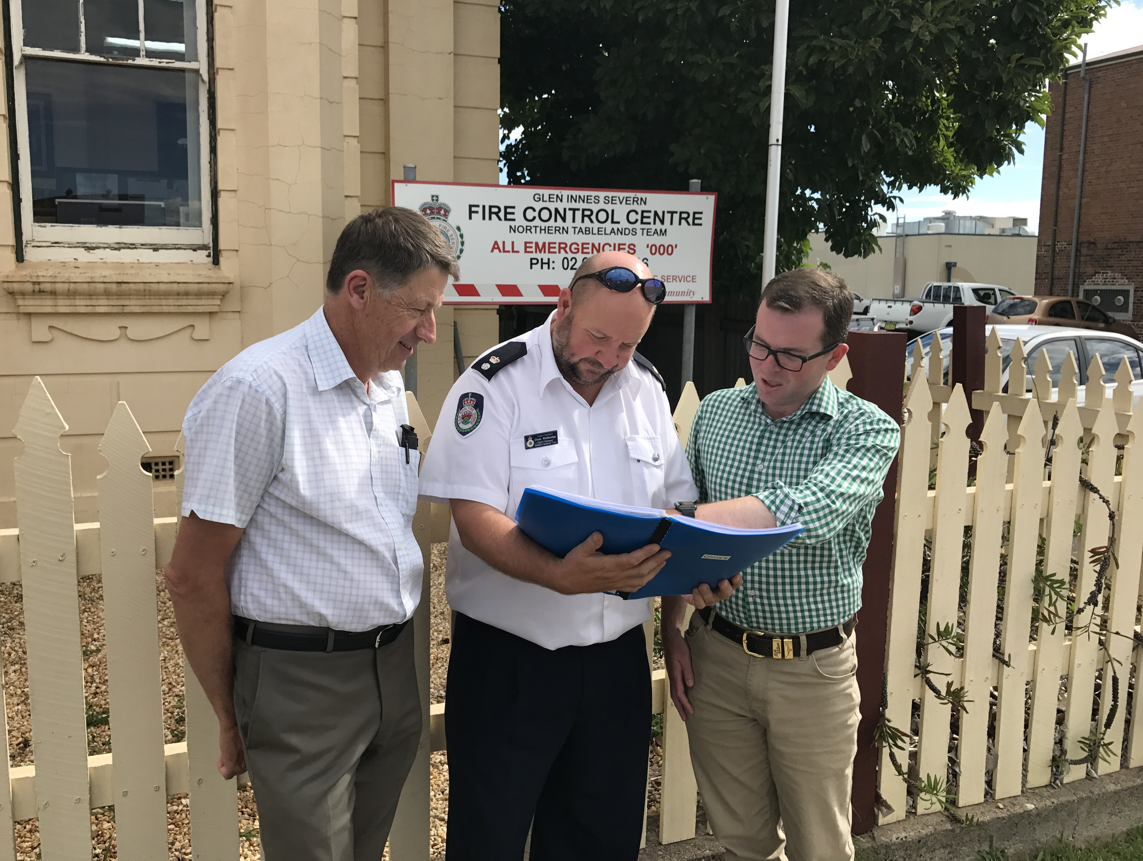 Glen Innes RFS Fire Control Centre planning