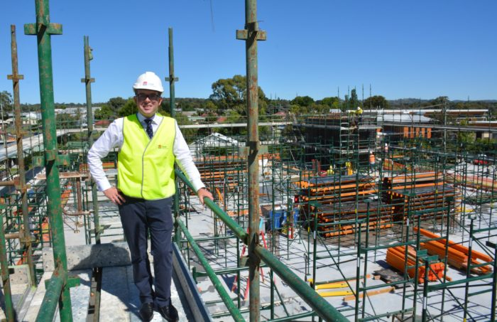ARMIDALE HOSPITAL STOREY CONTINUES AS THIRD CONCRETE POUR SETS