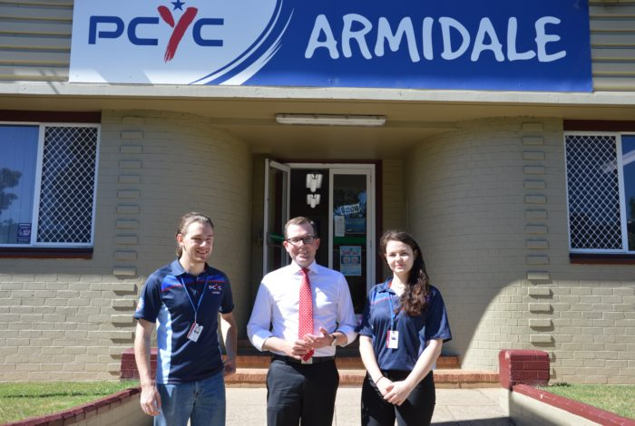 ARMIDALE PCYC RECEIVES $33,000 FUNDING FLUSH
