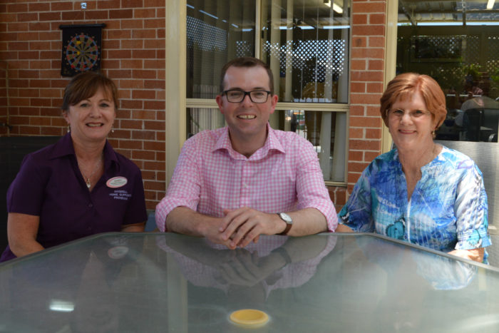 INVERELL HACC TO SERVE UP A COURTYARD MOVE WITH FUNDING WIN