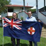 Glen Innes Show new flag