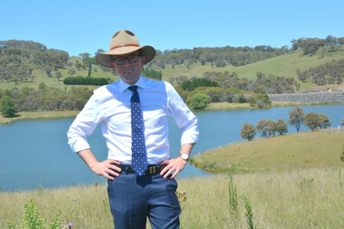 ENSURING GUYRA'S WATER SECURITY A TOP PRIORITY FOR LOCAL MP
