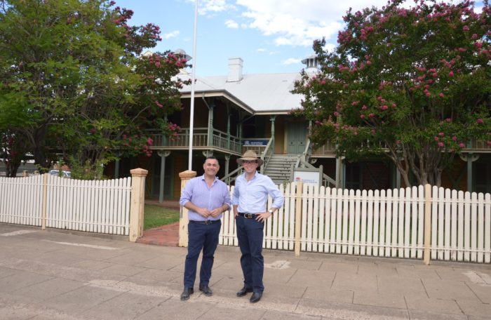HIGH HOPES FOR LOCAL CUSTODIAN FOR MOREE LANDS OFFICE