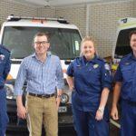 Moree Paramedics with Adam