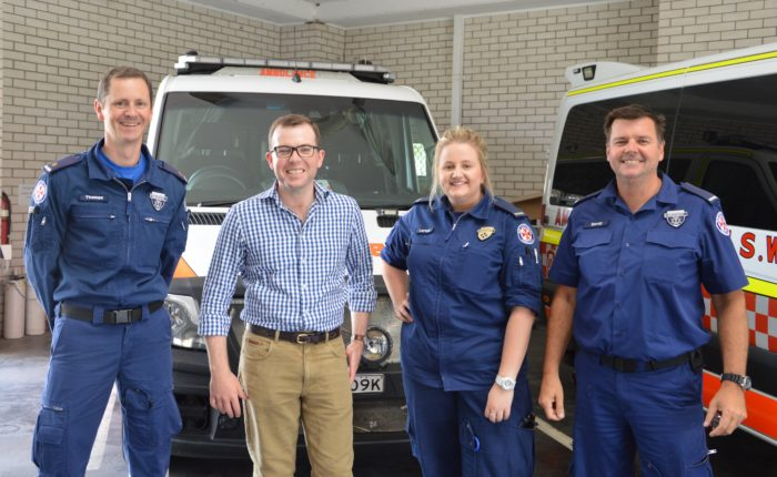 DEATH AND DISABILITY CHANGES A TOP CALL FOR OUR LOCAL AMBOS