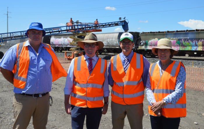 FIRST TRAIN BRINGS A BETTER DEAL FOR MOREE GROWERS AND INDUSTRY