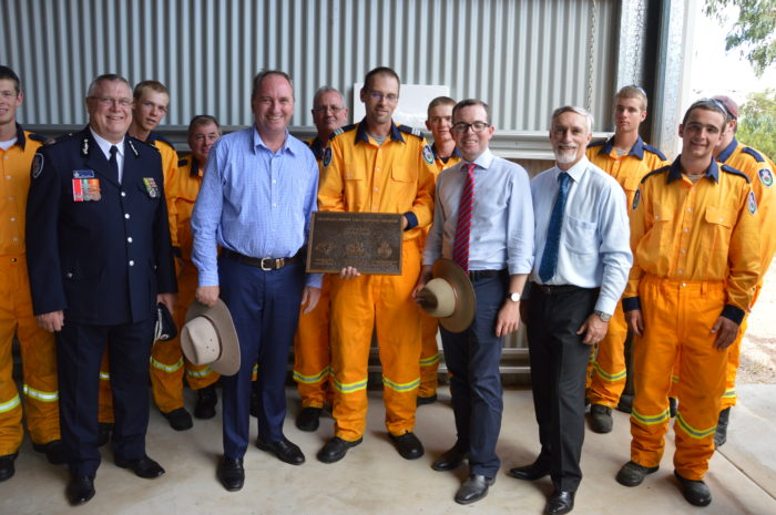 NEW RURAL FIRE SERVICE STATION FOR ELSMORE COMMUNITY
