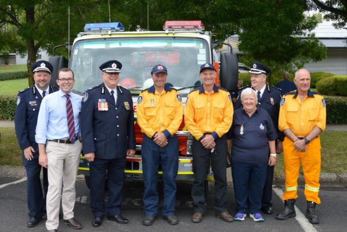 NEW TANKER FOR GLEN ELGIN RURAL FIRE SERVICE BRIGADE