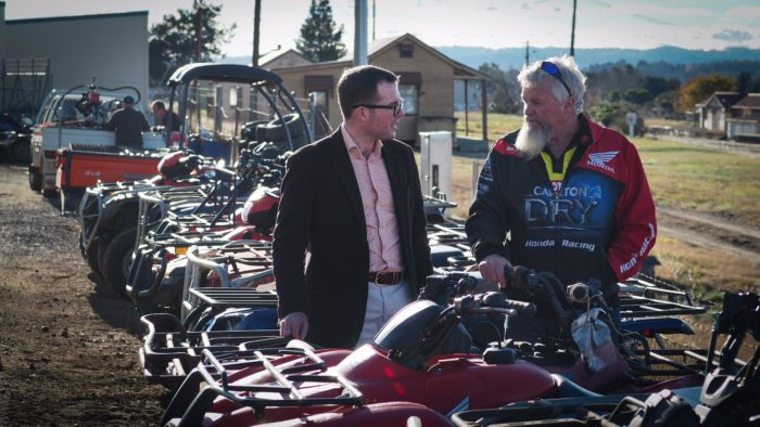 REBATES FOR QUADBIKE UPGRADES DOUBLED TO MAKE FARMS SAFTER