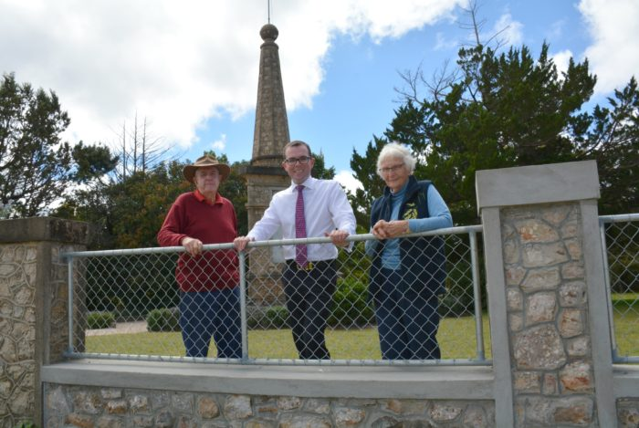 NEW FACE FOR HISTORIC DANGARSLEIGH WAR MEMORIAL