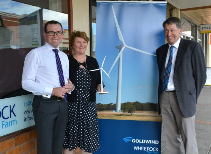 WHITE ROCK WIND FARM STEPS UP TO ENSURE BETTER TV RECEPTION