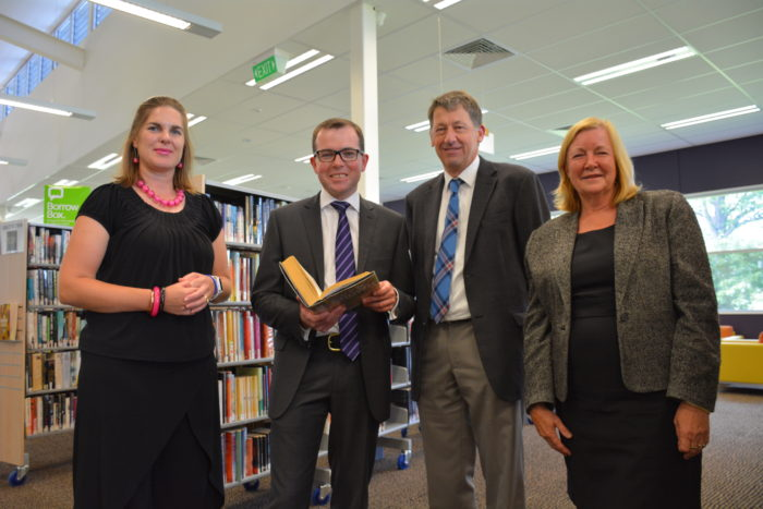 FUNDING FOR GLEN INNES LIBRARY A GENUINE ELECTRONIC PAGE TURNER