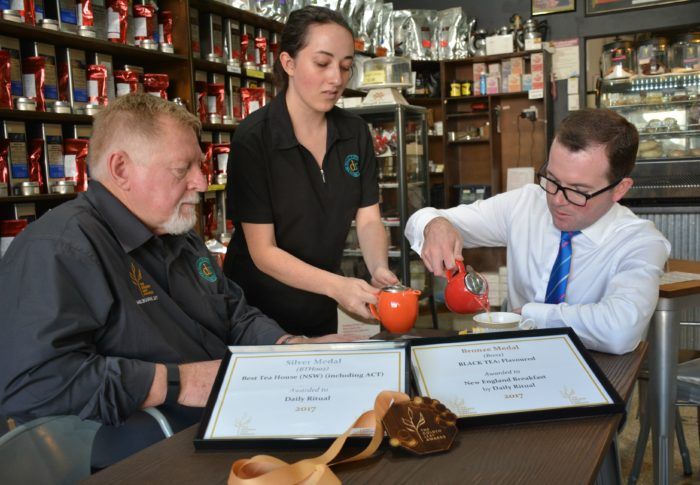 ARMIDALE BREW HITS THE SPOT AS JUDGE'S CUP OF TEA