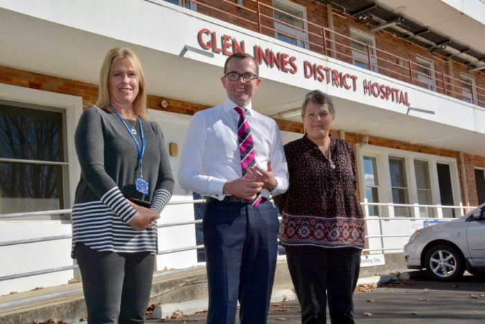 $500,000 GLEN INNES HOSPITAL UPGRADE WORKS ON TRACK: MP