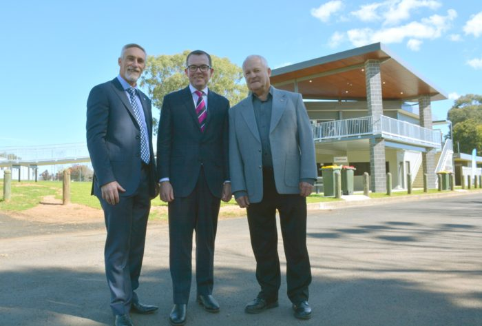 INVERELL'S NEW HOME OF SPORTS THROWS OPEN ITS DOORS