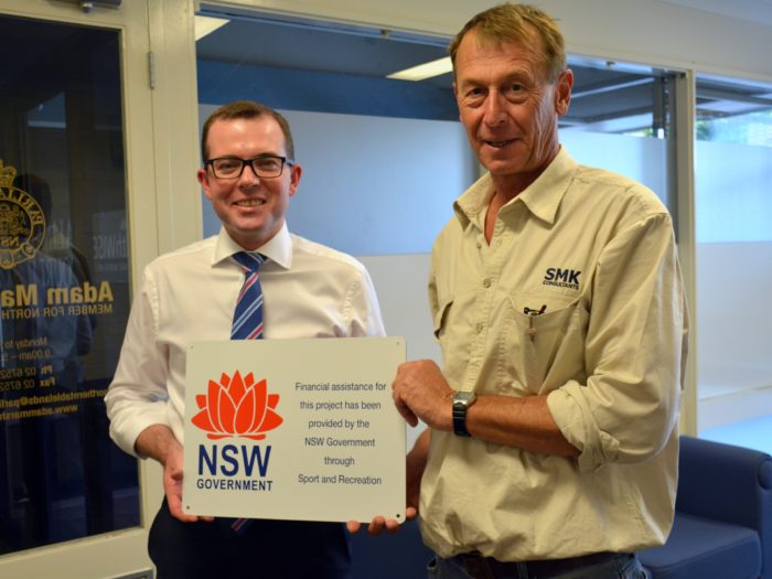 MOREE MOTORCYCLE CLUB'S CANTEEN SECURED THANKS TO STATE GRANT