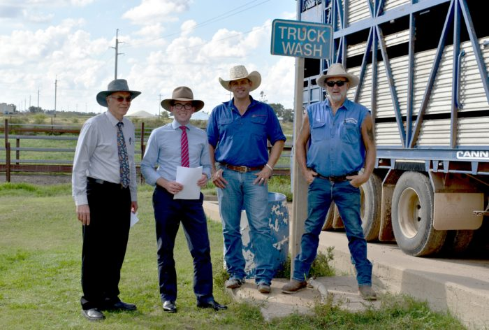 MOREE AWASH WITH FUNDING TO KEEP LIVESTOCK TRUCKS CLEAN