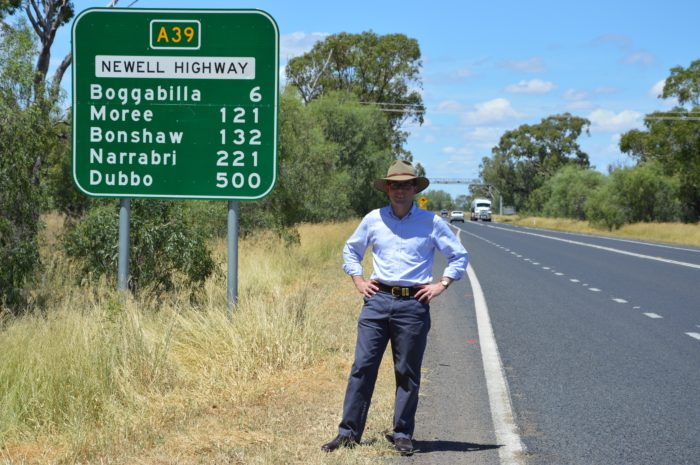 NEWELL HIGHWAY UPGRADE SPEEDS UP SOUTH OF BOGGABILLA