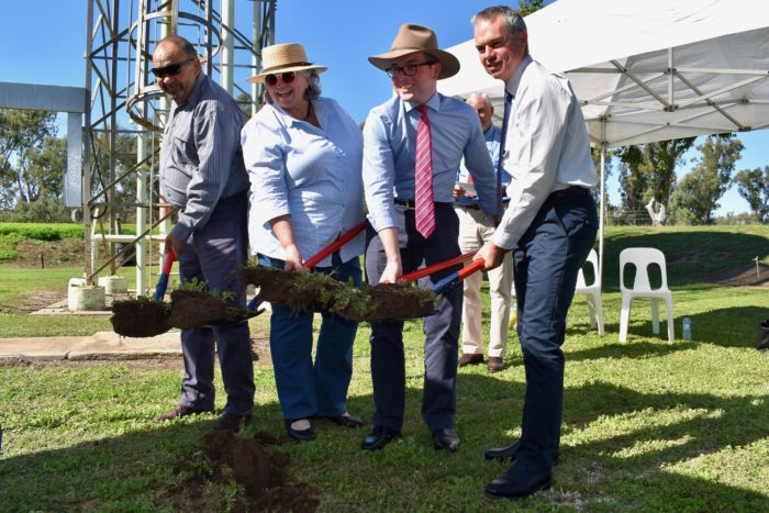 SOD TURNED ON $4.6M BOGGABILLA TO TOOMELAH WATER PIPELINE