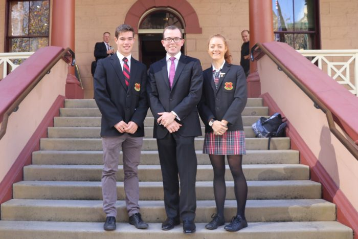 INVERELL STUDENT LEADERS TOUR STATE PARLIAMENT