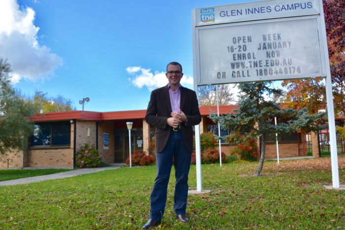 WORK BEGINS ON $2M NEXT-GEN FACILITIES AT GLEN INNES TAFE