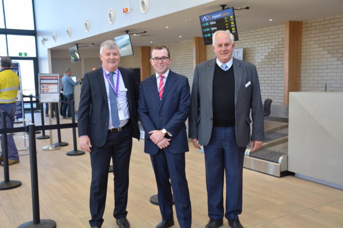 ARMIDALE AIRPORT IN HOLDING PATTERN AS FINAL UPGRADES BEGIN