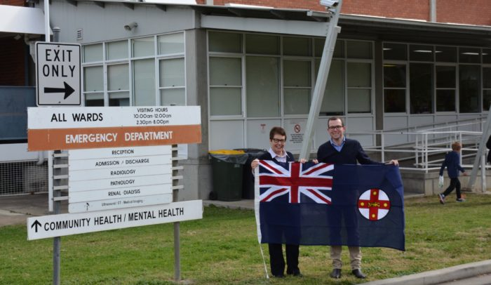 MOREE HOSPITAL SCORES NEW STATE FLAG & LOOKS TO FUTURE UPGRADE