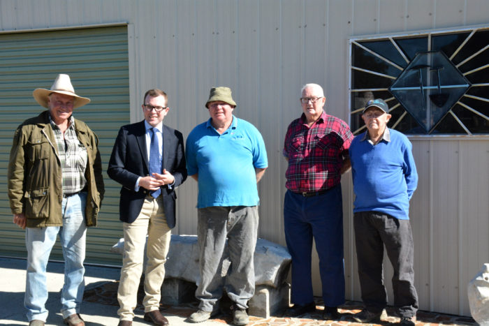 DONATED MACHINES PUT INVERELL LAPIDARY CLUB AT THE CUTTING EDGE