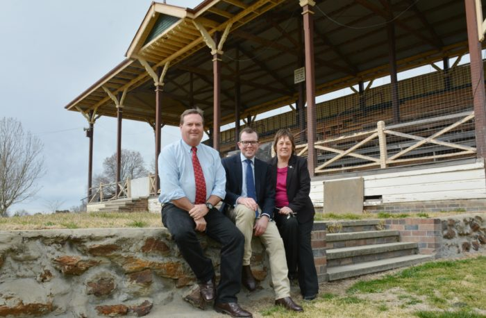 SEATING WILL STAND AGAIN WITH $550,000 FOR ARMIDALE SHOWGROUND