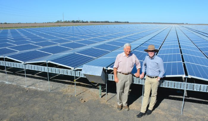 BOGGABILLA FARM A BRIGHT EXAMPLE OF REGION'S SOLAR FUTURE