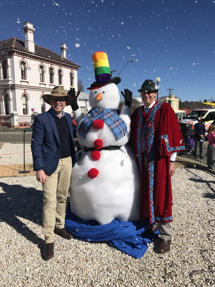 CHILLY GLEN INNES FESTIVAL RECEIVES WARM RECEPTION IN PARLIAMENT
