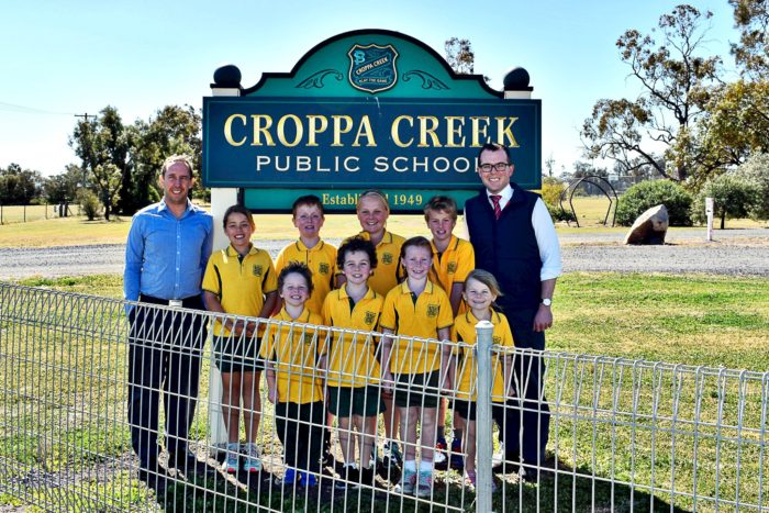 CROPPA CREEK & NORTH STAR TO TRIAL NEW CONNECTIVITY FOR COUNTRY SCHOOLS