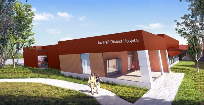 INVERELL HOSPITAL REDEVELOPMENT DESIGNS NOW ON SHOW