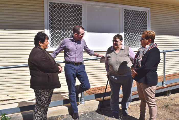 RAMPING UP THE FACILITIES WITH $20,000 AT MOREE'S MOREENA UNITS