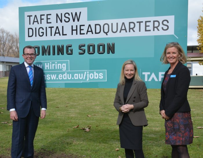 ESTABLISHMENT OF TAFE NSW DIGITAL HEADQUARTERS IN ARMIDALE ON TRACK