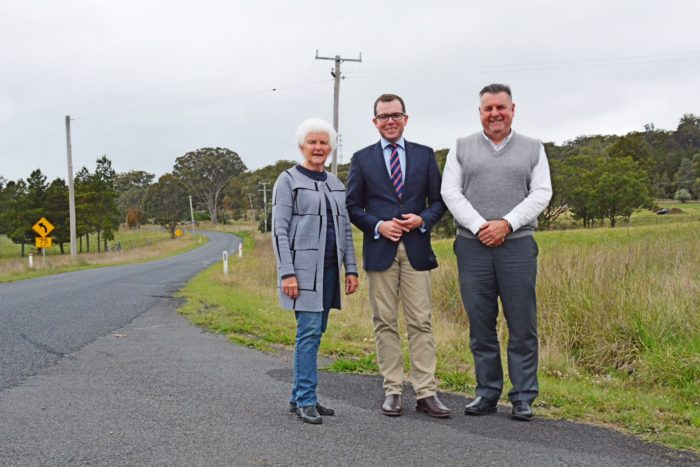 $154,100 TO FIX DANGEROUS CORNERS ON BUNDARRA ROAD NEAR ARMIDALE
