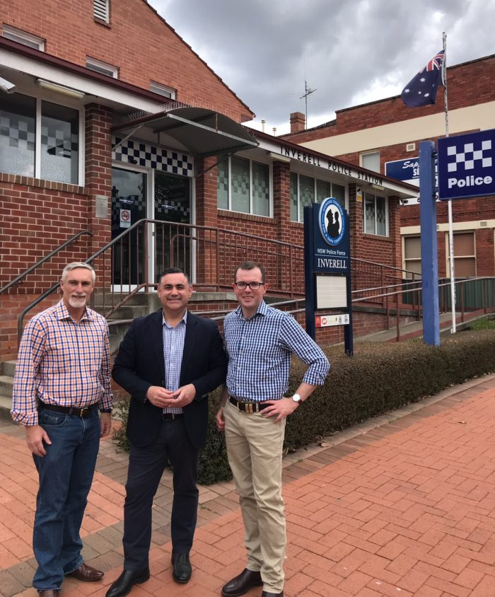 DEPUTY PREMIER SEES URGENCY OF NEW INVERELL POLICE STATION