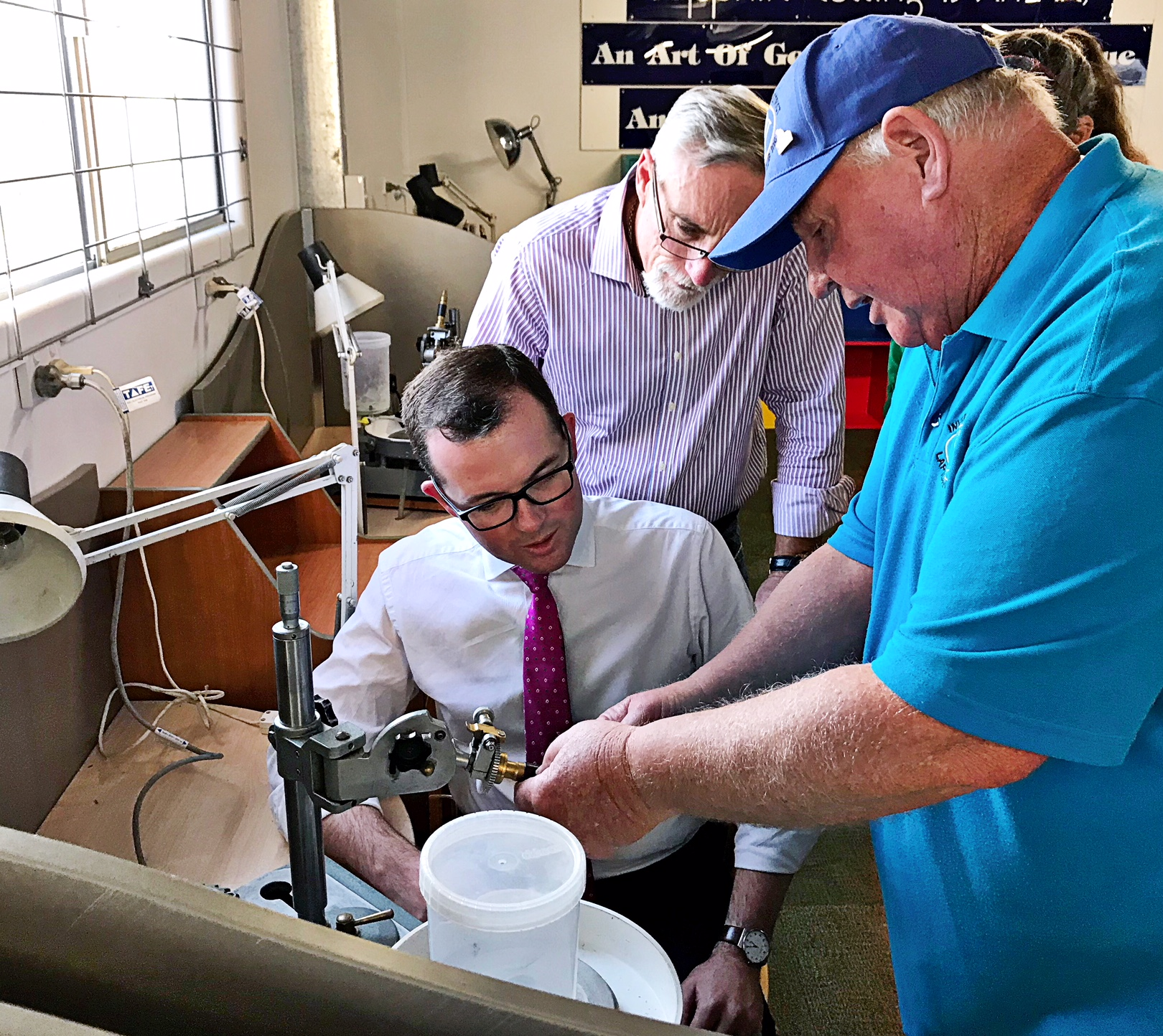 Inverell lapidary Club opening 2