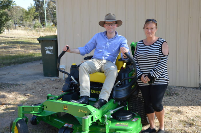 $12,900 GRANT GETS GILGAI HALL TRUSTEES ON THE MOVE